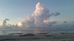 Irre schön, aber auch irre warm: der Golf von Mexiko vor Sanibel Island