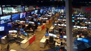 Im Newsroom von CNN