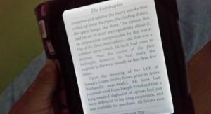 Und einsam glimmt der E-Reader in der Nacht ...