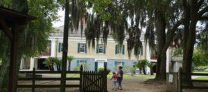 Hochherrschaftlich: Hauptgebäude der Destrehan Plantation