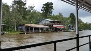 Indian Village am Fluss